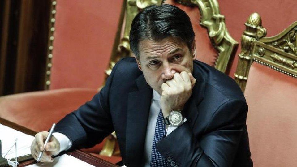 Giuseppe Conte, foto Ansa