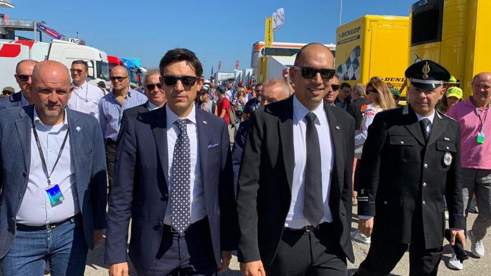 Nicola Selva e Michele Muratori accompagnati da Marco Podeschi