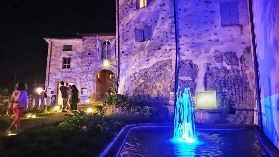 Il centro storico di Montegiardinol'attesa degli artisti