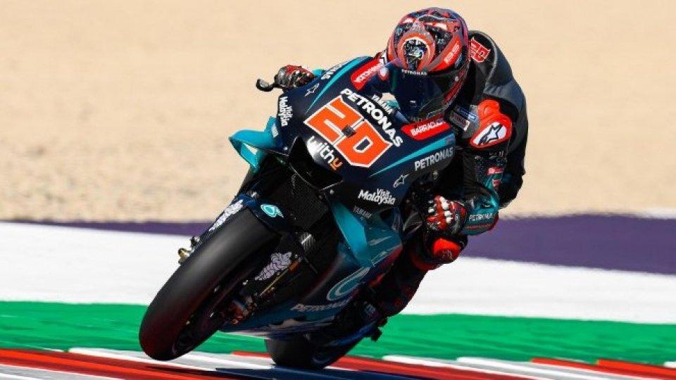 MotoGP: nelle libere della mattina ancora Quartararo il più veloce