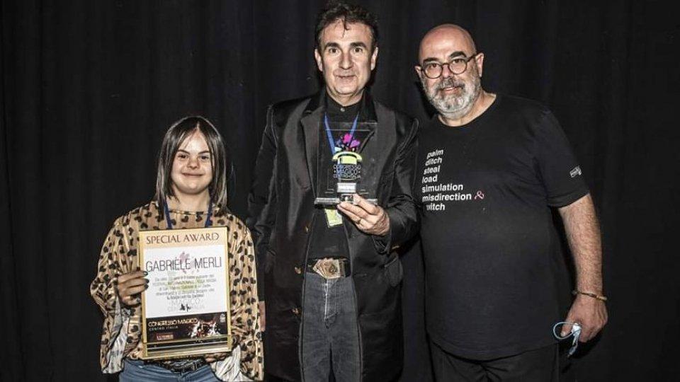 La premiazione di Magica Gilly e Mago Gabriel