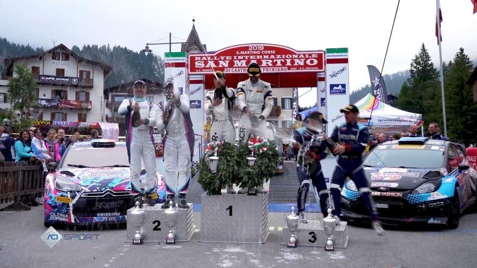 Luca Pedersoli conquista il titolo tricolore WRC