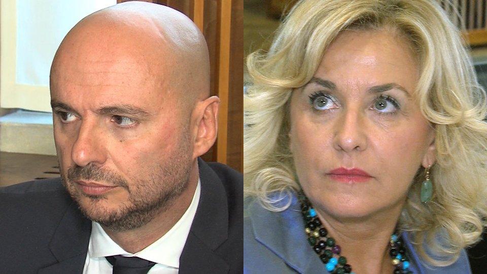 Luca Boschi Mariella MularoniEcco i Capitani Reggenti eletti
