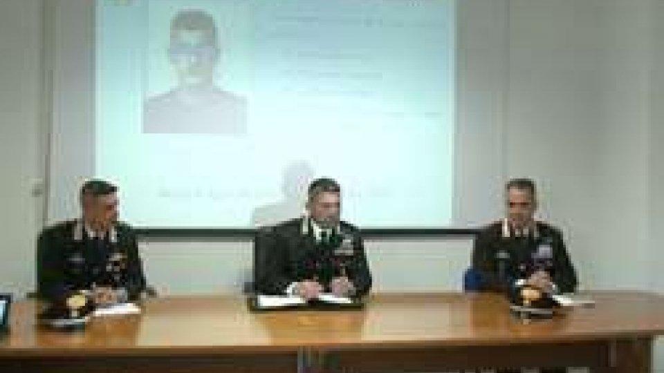 Conferenza stampa CC RiminiVideo di minaccia su fb, arrestato stalker recidivo