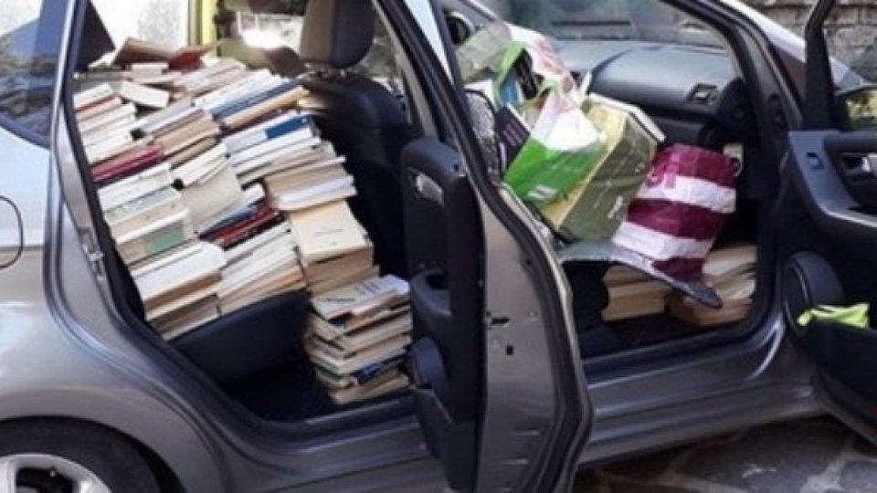 Compra 909 libri in due ore