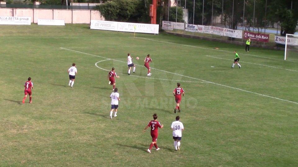 Serie B. Debutto con pareggio per la San Marino Academy