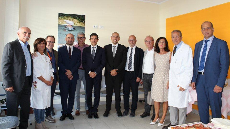 Segreteria Sanità: Visita e donazione dei Capitani Reggenti al reparto di Neonatologia di Rimini