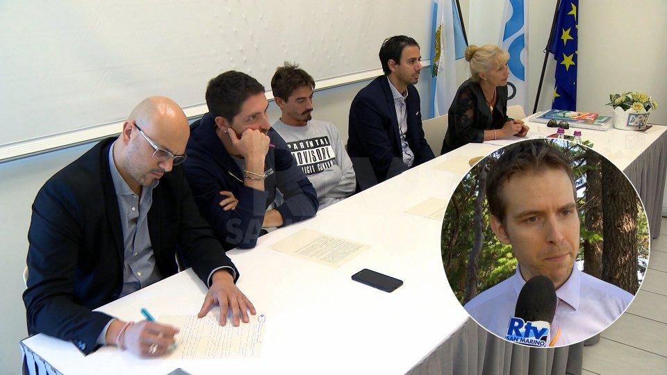 La conferenza stampa di Libera e il Segretario Andrea Zafferani