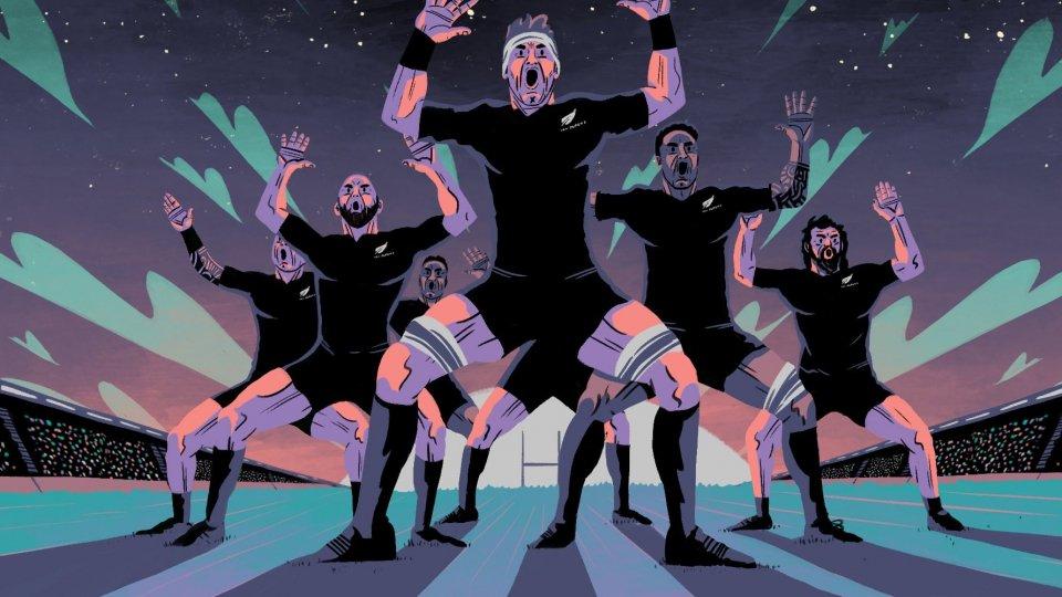 """Si scrive """"All Blacks"""" si legge """"Rugby"""""""