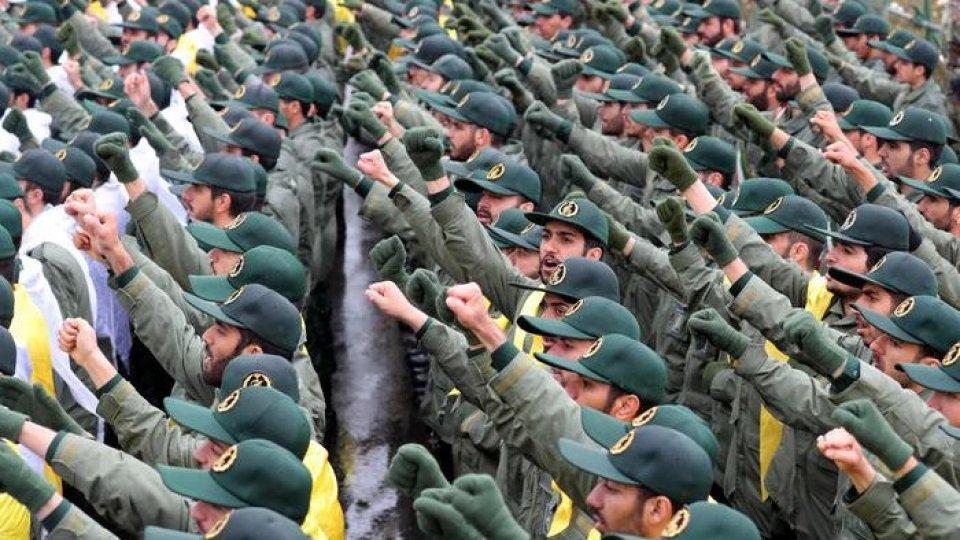 I Pasdaran iraniani. Foto Ansa