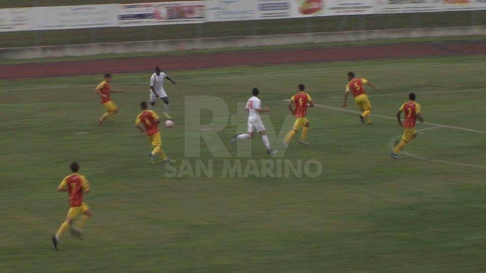 Cissè non basta al Cattolica San Marino, la Recanatese rimonta e vince 2-1