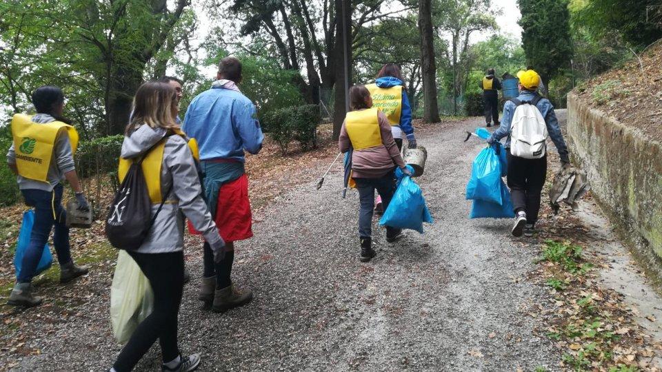 volontari a Mondaino