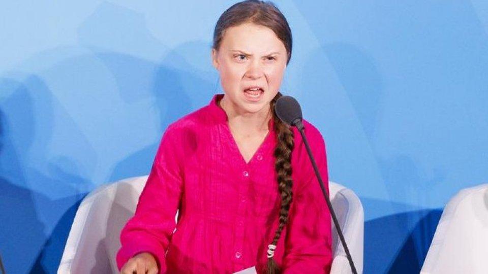Greta Thunberg al vertice ONU (Ansa)