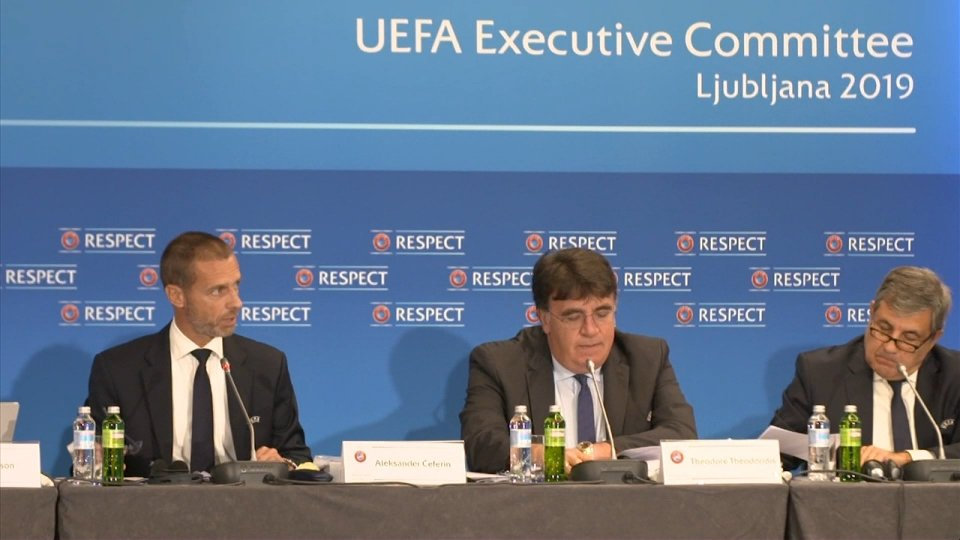 Uefa: decise le sedi delle prossime finali di Champions. Nasce una nuova competizione per club