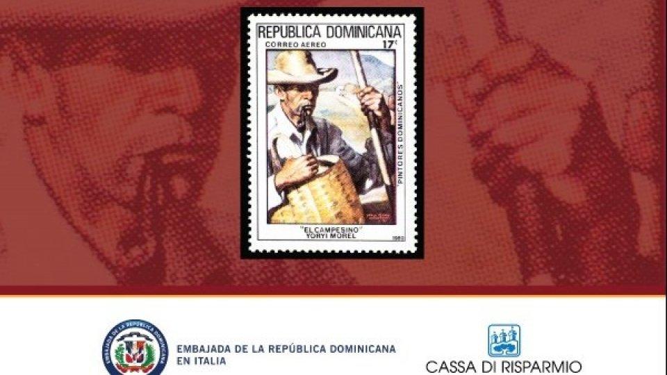 """PRESENTAZIONE MOSTRA """"I MESSAGGERI DELL'ARTE"""" IN OCCASIONE DELLA CELEBRAZIONE DELL'ANNIVERSARIO DEL PRIMO  FRANCOBOLLO POSTALE DELLA REPUBBLICA DOMINICANA"""