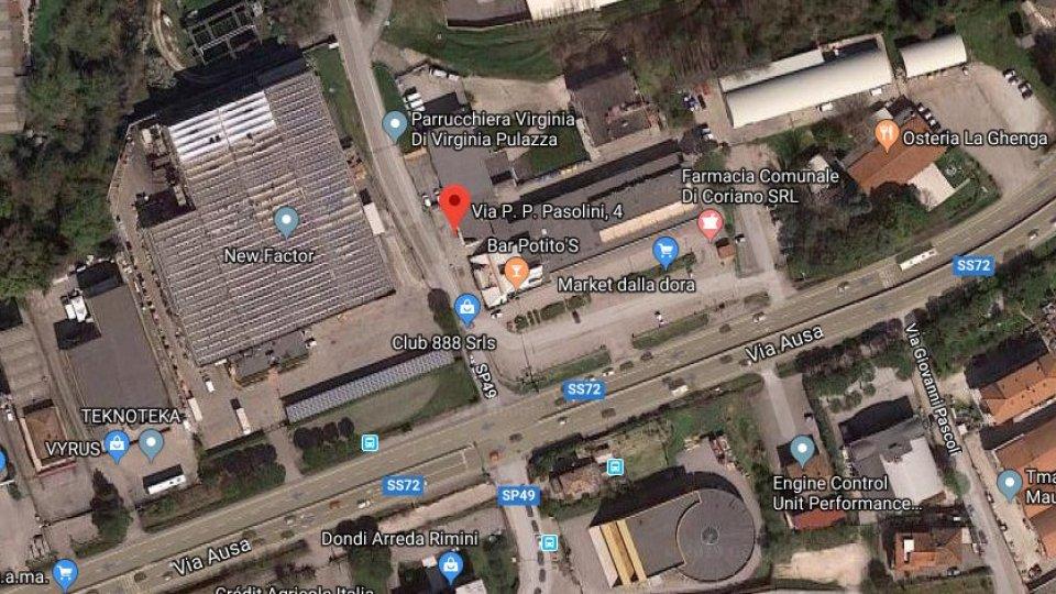 incidente a Cerasolo @googlemaps