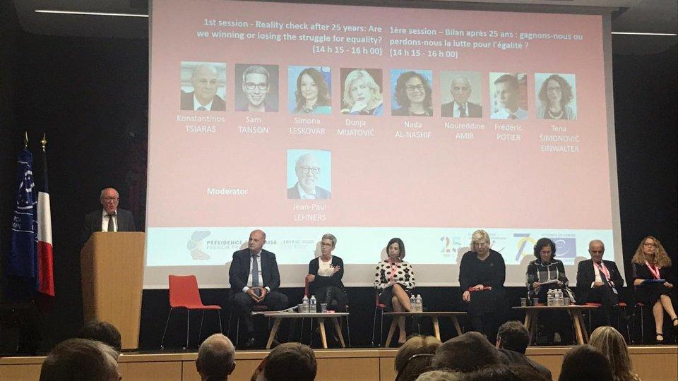 Il Consiglio d'Europa celebra 25 anni di lotta contro il razzismo e l'intolleranza: San Marino presente alla Conferenza di alto livello dell'ECRI