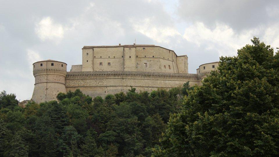 La fortezza di San Leo @Wikipedia