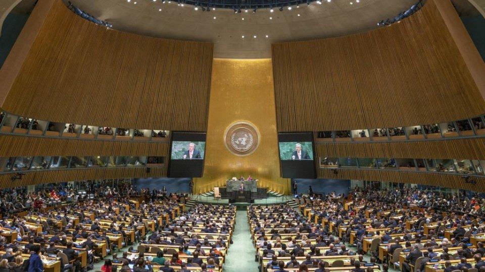 Oggi intervento del Segretario Renzi all'Assemblea Generale ONU