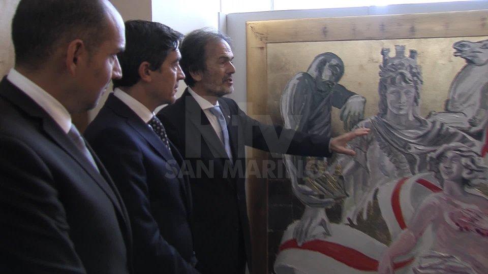 A marzo 2020 sul Titano la mostra personale del Maestro Giorgio Oikonomoy