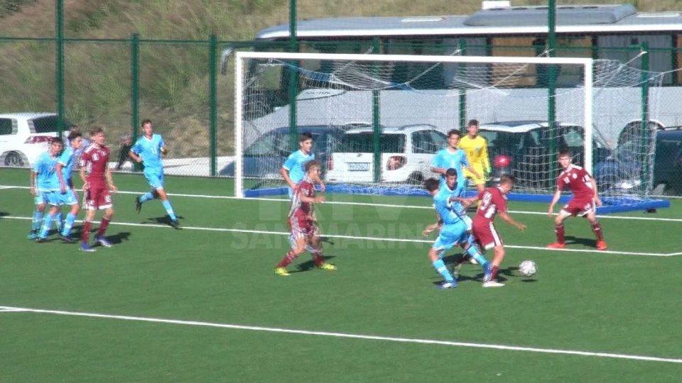 Roneo Sviluppo U15, San Marino battuto 3-0 dalla LettoniaRoneo Sviluppo U15, San Marino battuto 3-0 dalla Lettonia