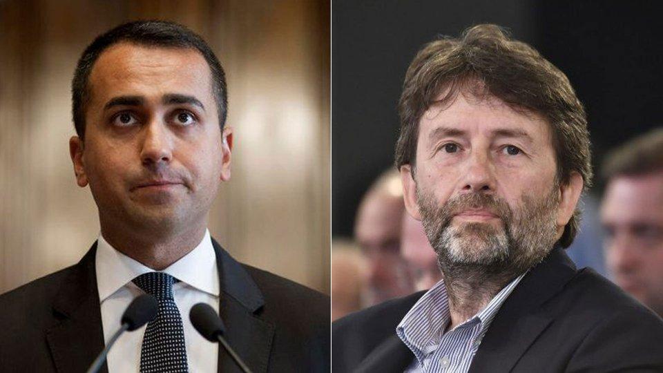 Vertice di governo sulla manovra, duello Di Maio-Franceschini
