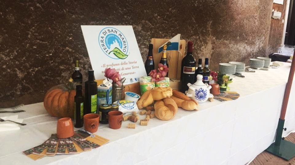 Prodotti Consorzio Terra di San Marino. Foto Facebook
