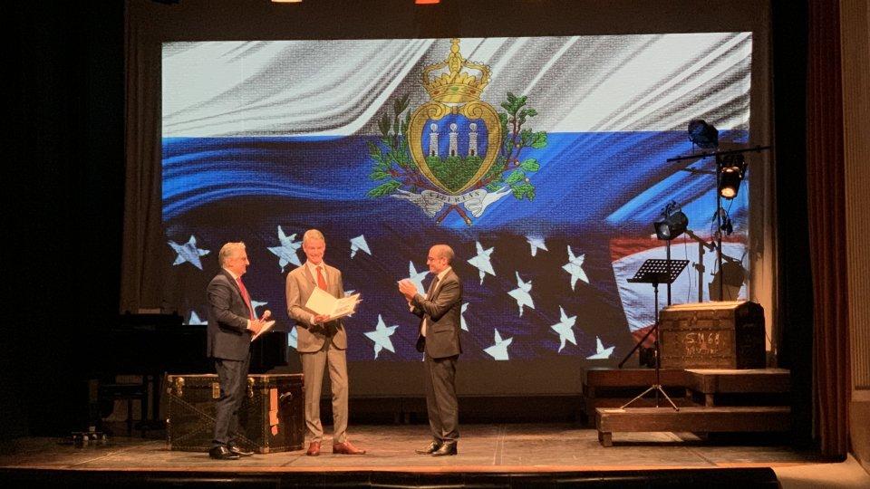 """""""FRATELLEVOLMENTE"""" San Marino celebra il rapporto con gli Stati Uniti"""