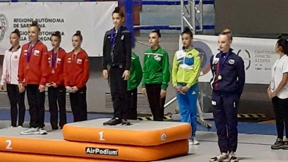 San Marino sul podio ai Giochi del Mediterraneo con Matilde Tamagnini