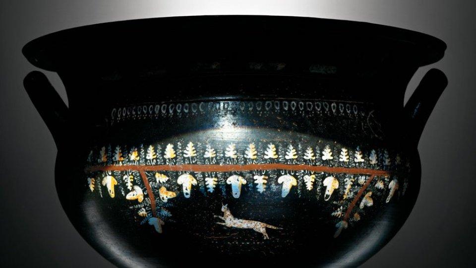 """""""diVINO Dioniso""""  Al Museo di Stato un percorso  alla scoperta del vino nell'antichità"""