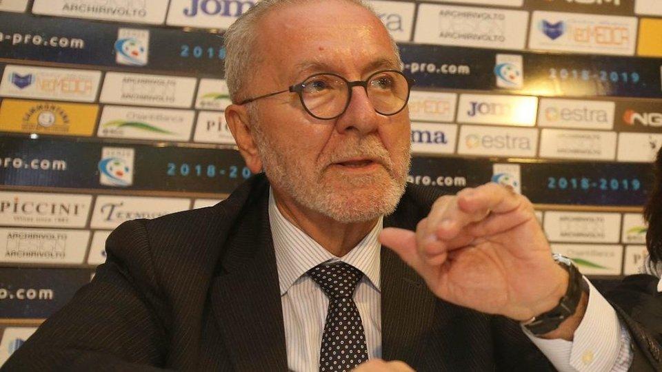 Il Presidente di Lega Pro Francesco Ghirelli opite di Cpiace