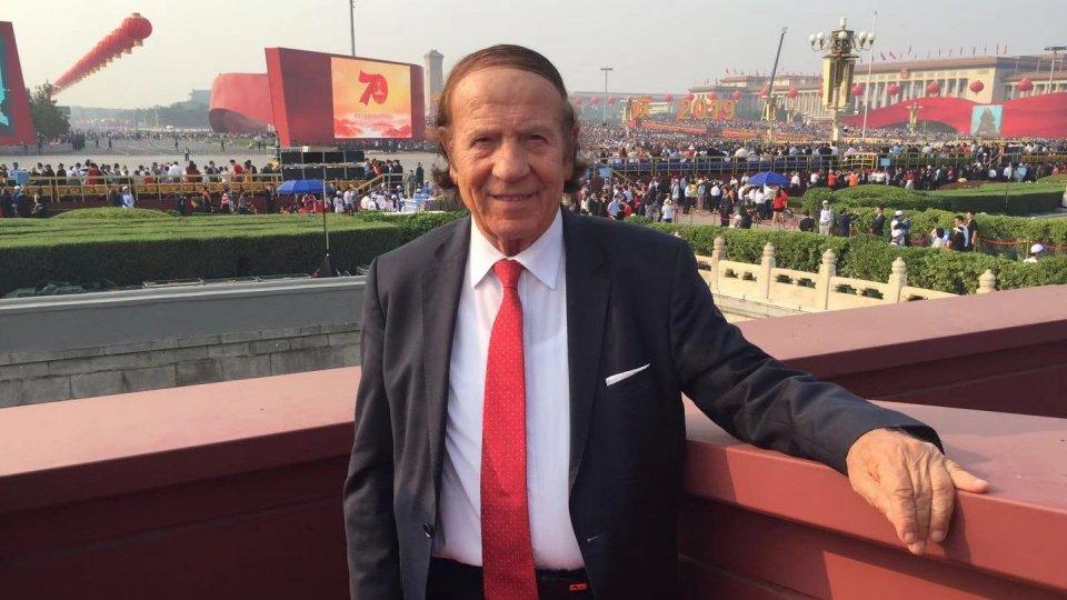 Il Presidente dell'Associazione San Marino-Cina Gian Franco Terenzi a Pechino per il 70° anniversario della nascita della Repubblica popolare cinese