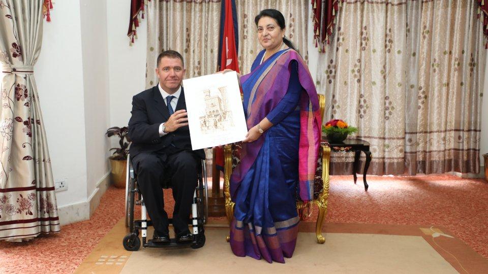 Attiva-Mente ha incontrato il Presidente del Nepal Bidhya Devi Bhandari