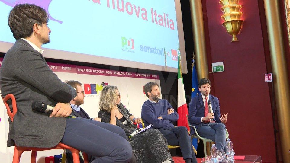 Le interviste a Dario Franceschini, Roberto Speranza, Giuseppe Provenzano e Anna Rossomando
