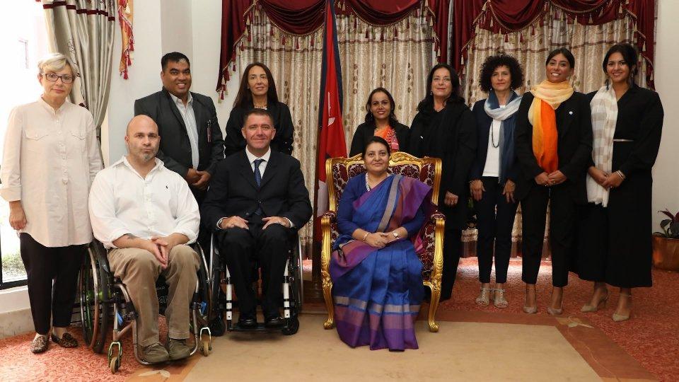 Attiva-Mente incontra la presidente del Nepal