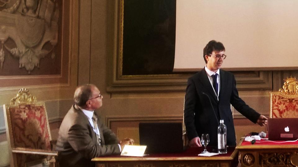 I professori Alberto Franci e Pietro Renzi espongono la ricerca