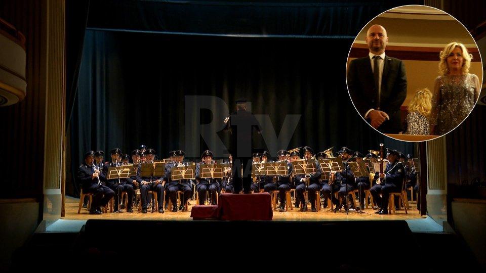 La Reggenza al concerto della Banda Militare