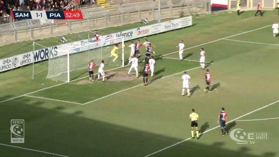 Sambenedettese - Piacenza 4-2Sambenedettese - Piacenza 4-2