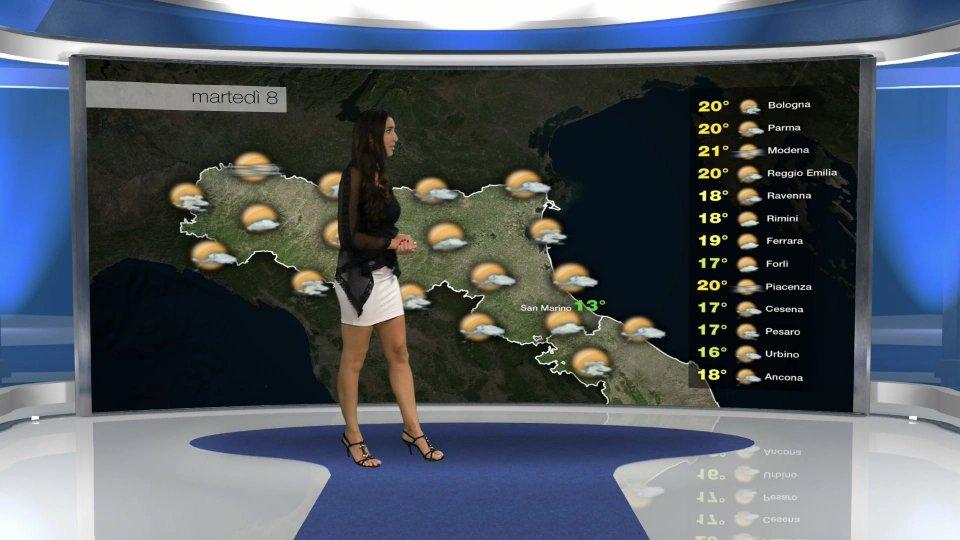 le previsioni per domani