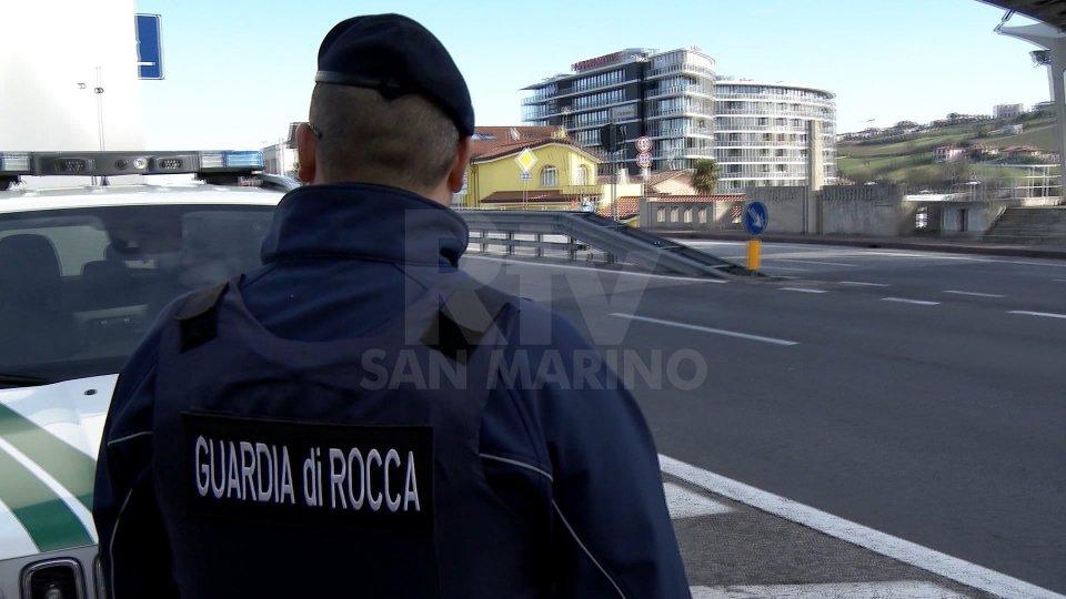La Guardia di Rocca denuncia due 21enni: uno è sammarinese, positivo all'uso di stupefacenti