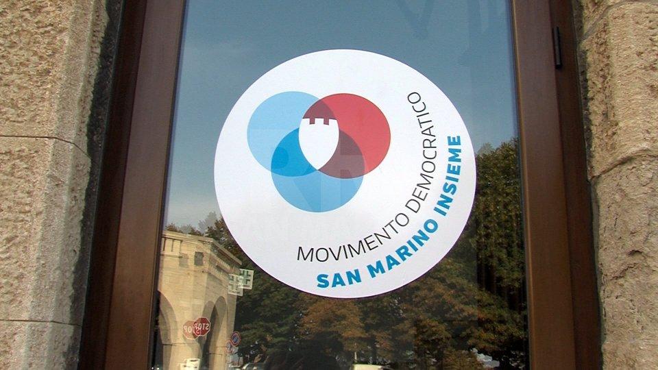 """Movimento Democratico replica a Santi e Gasperoni: """"inaccettabili"""" le norme e regole chieste da Rete"""
