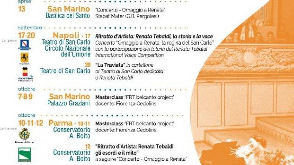 """""""Gli esordi ed il mito"""" a Parma la Fondazione Tebaldi celebra Renata"""
