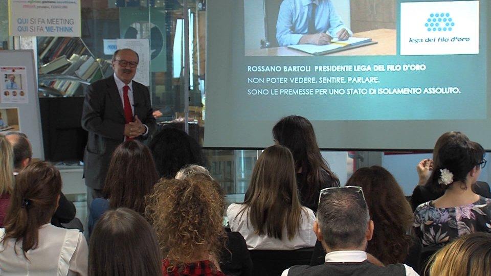 Nel servizio l'intervista a Rossano Bartoli (Presidente Lega del Filo d'Oro)
