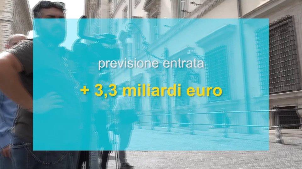 Manovra italiana, l'evasione fiscale sarà trattata come la mafia