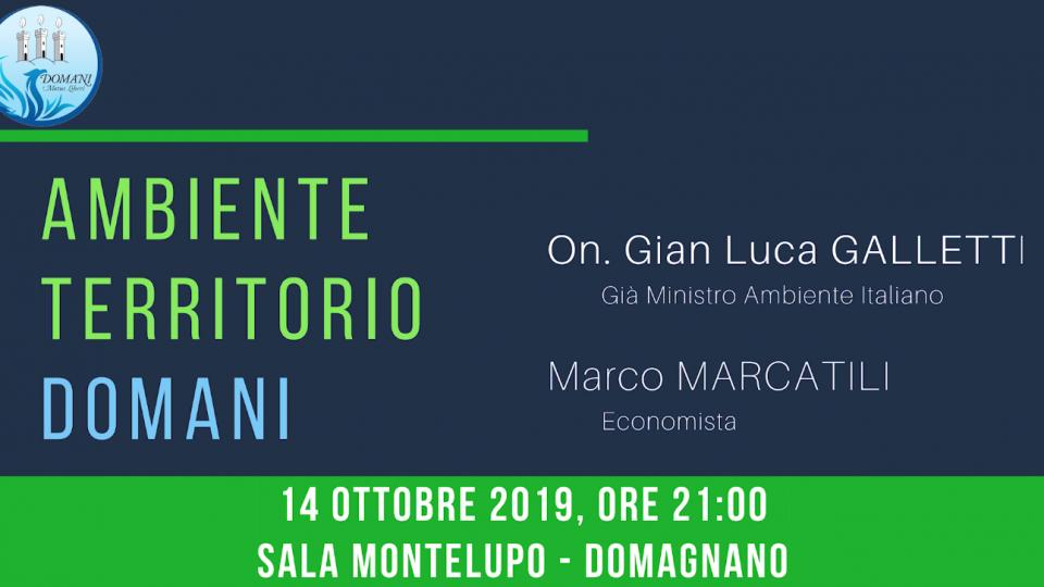 Domani - Motus Liberi organizza una serata dedicata all'Ambiente