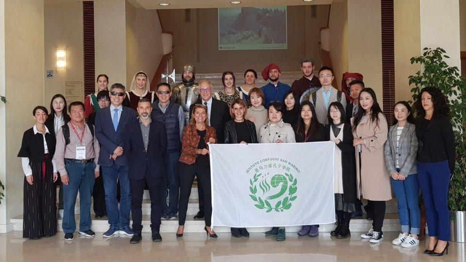 Agenzia per lo Sviluppo Economico: operatori del turismo cinesi in visita a San Marino