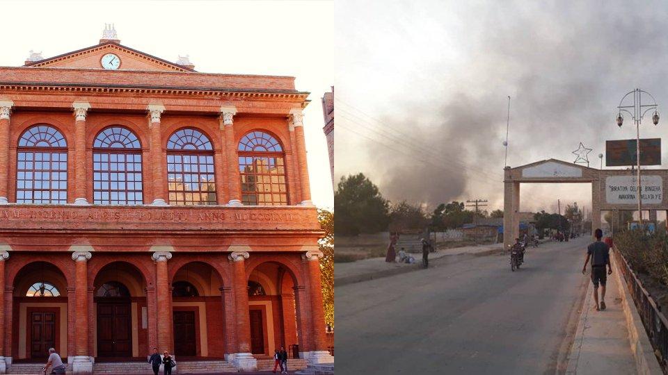 Teatro Galli / Curdi in fuga in Siria