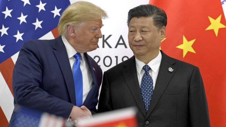 Donald Trump e Xi Jinping © ANSA/APDazi USA al centro anche del Forum Coldiretti. L'intervista all'europarlamentare Paolo De Castro