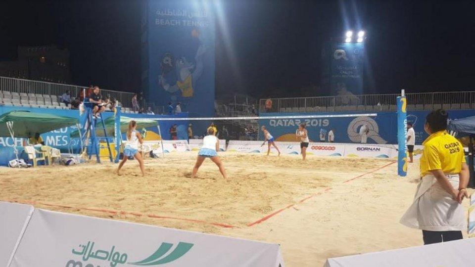 World Beach Games: Grandi e Colonna cedono alle italiane