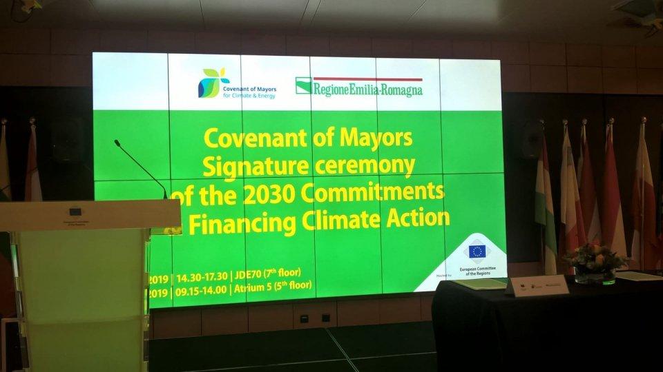 Misano firma il Patto dei Sindaci per un clima sostenibile
